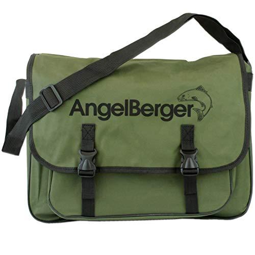 Angel-Berger Spinntasche mit Boxen Angeltasche Kunstködertasche Umhängetasche (ohne Boxen)