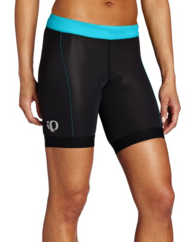 PEARL IZUMI Damen Select Tri Shorts Medium Black/Scuba Blue