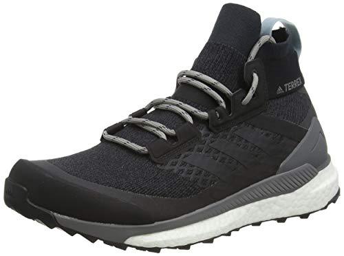 adidas Damen Terrex Free Hiker W Fitnessschuhe, Mehrfarbig (Carbon/Carbon/Gricen 000), 40 EU