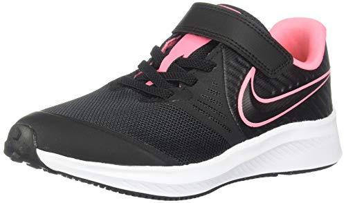 Nike Star Runner 2 (PSV) Sneaker, Schwarz Sunset Pulse-Black-White 002, Numeric_32 EU