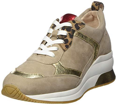 Gerry Weber Shoes Damen Affi 01 Sneaker, Mehrfarbig (Taupe-Kombi 251), 36 EU