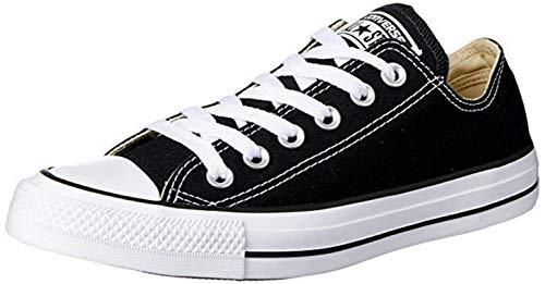 Converse All Star Ox Canvas Schwarze Sneakers-UK 8