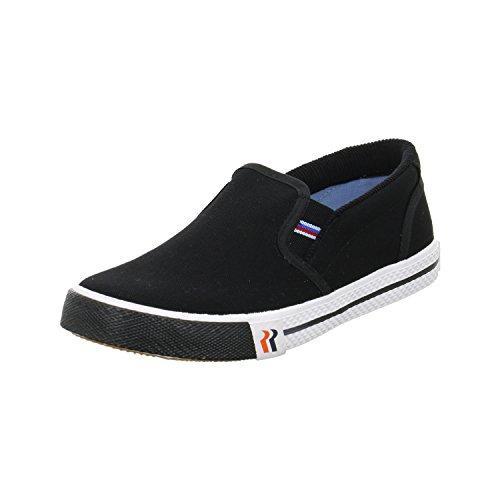 Romika Laser, Unisex-Erwachsene Slip On Sneaker, Schwarz (Schwarz 100), 39 EU
