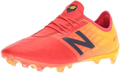 New Balance Fußballschuhe Furon 4.0 Pro Leather Fg Msfkffa4, 42.5, Orange