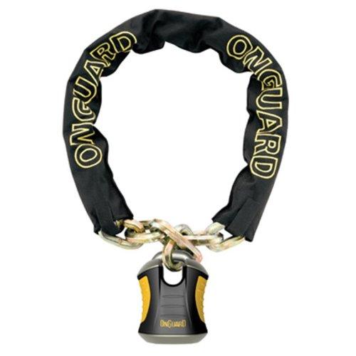 On-Guard Unisex– Erwachsene Onguard Beast Fahrradschloss, grau, 1size
