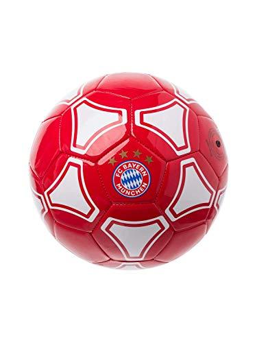 FC Bayern München Kleinkind Baby Fußball Mini Ball rot/weiß, Größe 1
