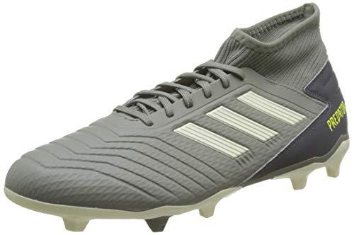 adidas Herren Predator 19.3 FG Fußballschuhe, Grün (Legacy Green/Sand/Solar Yellow Legacy Green/Sand/Solar Yellow), 43 1/3 EU