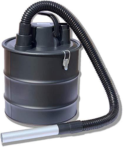 Kinzo K0411 Aschesauger Kaminsauger + Gebläse, 18L Behälter + Schlauch aus Metall, 2in1 Sauger Nasssauger Trockensauger, Grillsauger mit Hepa Filter, 800W, Bausauger, Staubsauger, Kohlesauger
