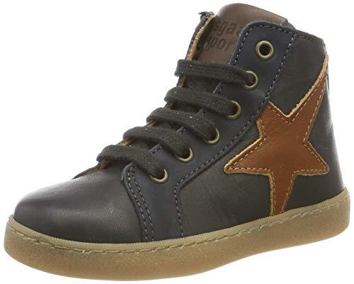 Bisgaard Unisex-Kinder Harald Hohe Sneaker, Grau (Antracite 202-1), 30 EU