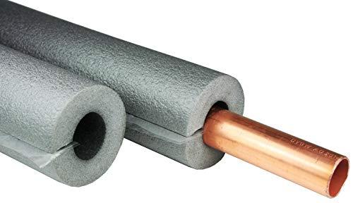 5 x Rohrisolierung, 1m mit 22mm Durchmesser, 13mm Isolierung, selbstklebend