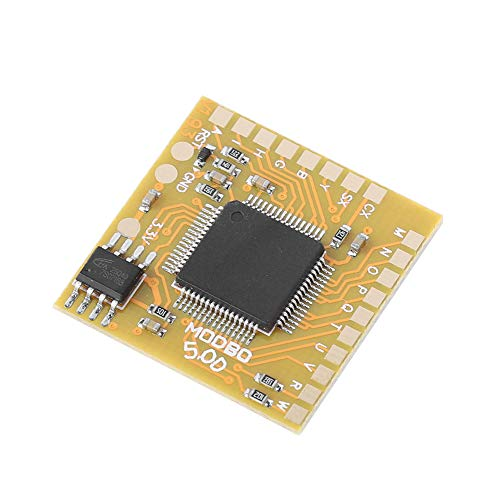 Socobeta Mod Chip IC5.0 V1.93 Chip Tragbarer Direktlesechip Kompatibel mit PS2-Unterstützung USB-Festplatte