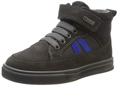 Richter Kinderschuhe Jungen Ola Hohe Sneaker, Grau (Steel/Stone/Liberty 6501), 30 EU