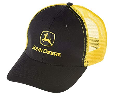 John Deere Mesh-Kappe Cap Gelb/Schwarz