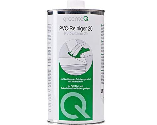greenteQ Kunststoffreiniger 20, 1l, Reinigungsmittel, Kunststoffreiniger