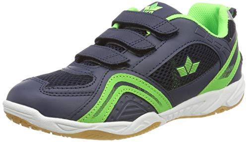 Lico Enjoy V Unisex Multisport Indoor Schuhe, Marine/ Lemon, 31 EU
