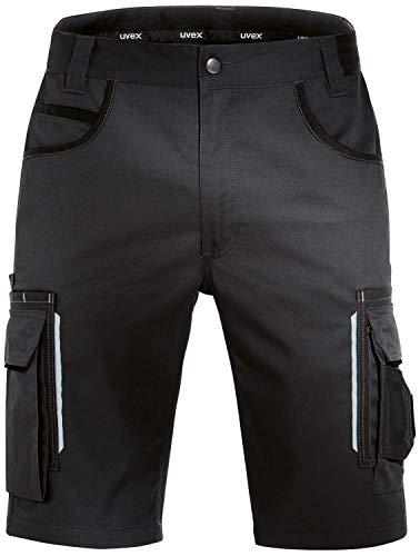 Uvex Tune-Up Arbeitshosen Männer Kurz - Shorts für die Arbeit - Schwarz - Gr 32W/Etikettengröße- 48