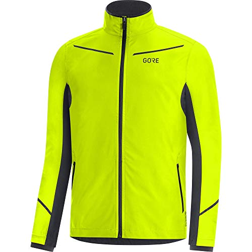GORE WEAR Herren R3 Gore-tex Infinium Jackets, Neon Yellow/Black, 3XL EU