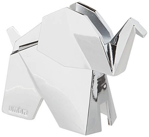 Umbra Origami Elefanten Ringhalter – Moderne Ringablage, Ideales Gastgeschenk, Beschichtetes Metall / Chrom