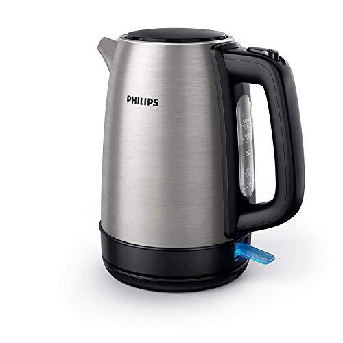 Philips HD9350/90 Wasserkocher (2200 Watt, 1.7 Liter, Edelstahl)[Energieklasse A+++]