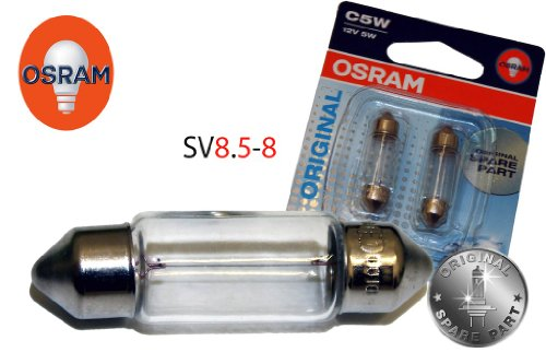 Osram C5W-8-438796 Kennzeichenbeleuchtung Set 36Mm C5W 12V 5W