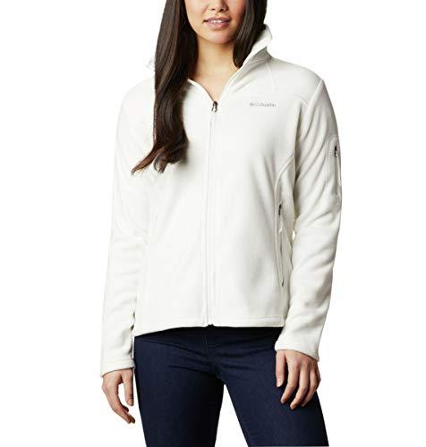 Columbia Fast Trek II Jacke für Damen, Weiß (Sea Salt), S