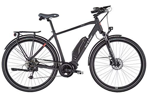Ortler Montana Eco Black matt Rahmenhöhe 60cm 2020 E-Trekkingrad