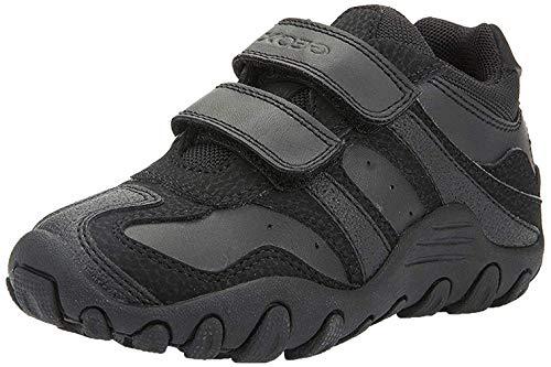 Geox Jungen J CRUSH M Sneakers, Schwarz (Black), 30 EU