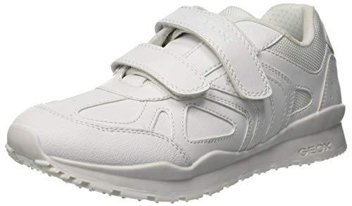 Geox Jungen J Pavel F Sneaker, Weiß (White C1000), 30 EU