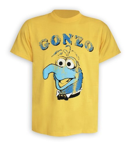 Muppets T-Shirt Gonzo in Größe S (small)