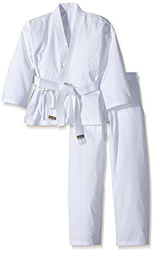 KWON Kinder Karateanzug Renshu, weiß, 140, 551001140