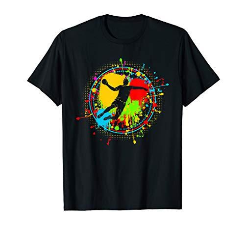 Cooles Handballmotiv | Handball Spieler Team Geschenk T-Shirt