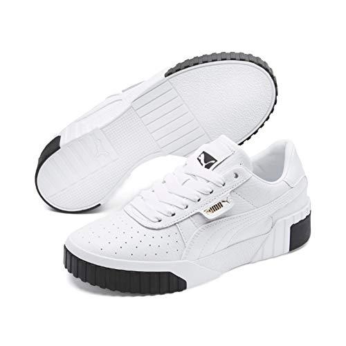 Puma Damen Cali WN's Sneaker, Weiß (Puma White-Puma Black), 42 EU