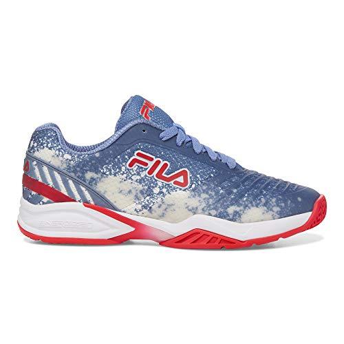 Fila Women's Axilus 2 Energized Tennis Shoe (Infinity/White/Diva Pink, 11)