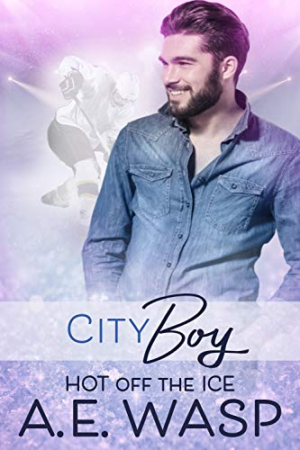 City Boy: A Gay Hockey Romance (Hot Off the Ice Book 1) (English Edition)