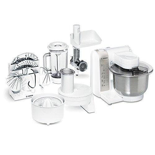 Bosch MUM4880 Küchenmaschine, Kunststoff, 3.9 liters, weiß