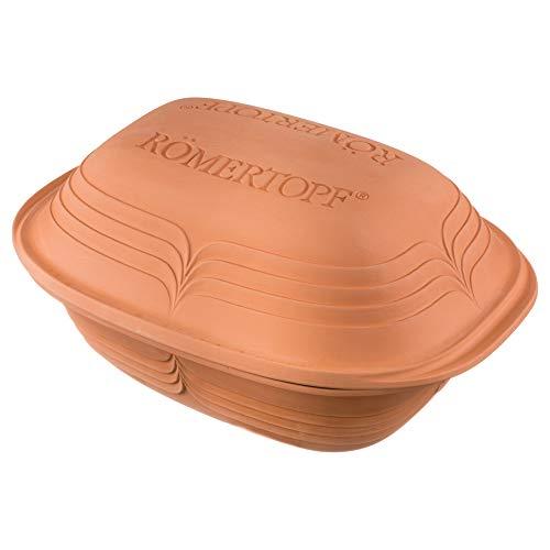 Römertopf Bräter Modern Look Keramik Dampfgarer 4 Liter
