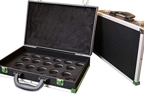 Cue & Case Man Snooker-Ball-Tragetasche, für Snooker-Bälle in voller Größe 5,1 cm