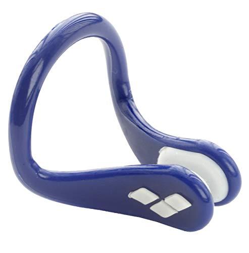 arena Unisex Wettkampf Schwimm Nasenklammer für Profis (Weiche Polsterung), Blue-White (81), One Size