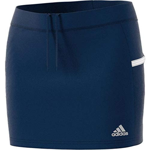 adidas Damen T19 Skort W Skirt, Team Navy Blue/White, M
