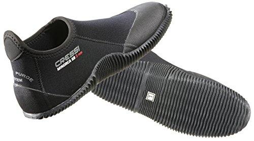 Cressi Füßling/Badeschuhe MINORCA Short Dive Boot - Gr. XS - 36/37 - Black