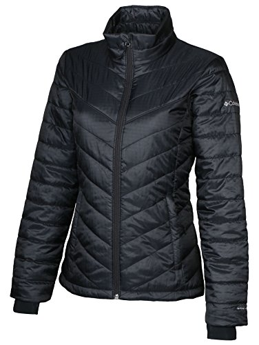 Columbia Women's Morning Light II Insulated Omni-Heat Jacket, BLACK (XS)