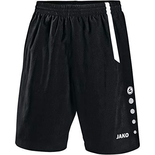 JAKO Herren Sporthose Turin, schwarz/weiß, 140
