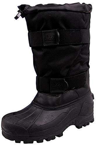 FoxOutdoor Kälteschutzstiefel, Fox 40 C, schwarz warme wasserdichte Winter-Stiefel - 45