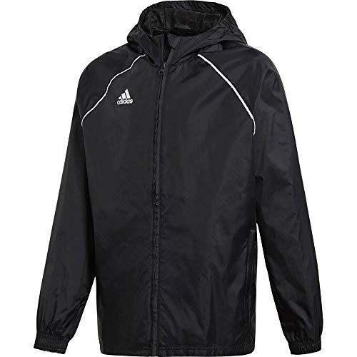 adidas Kinder Core18 RN Jkt Y Jacke, schwarz/weiß, 128