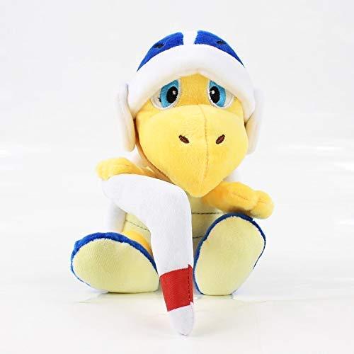 FGBV HomeDecor Plüschspielzeug 18 cm Super Mario Bros Plüsch Koopa Hammer Bumerang Gefüllte Plüschtier Puppe Kinder Geschenke Manmiao