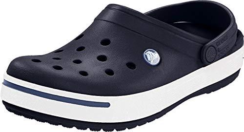 crocs Unisex-Erwachsene Crocband U Clogs, Blau (Navy/Bijou Blue), 46/47 EU