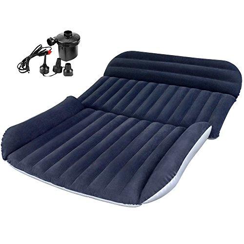 IREGRO SUV Luftmatratze Auto Luftmatratze mit Pumpe, aufgerüsteten Version Luftbett für Auto Matratze aufblasbares Bett Air Bett für Reisen, Camping usw.