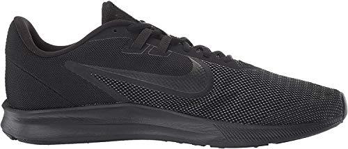 Nike Herren Downshifter 9 Laufschuhe, Schwarz (Black/Black-Anthracite 005), 44.5 EU