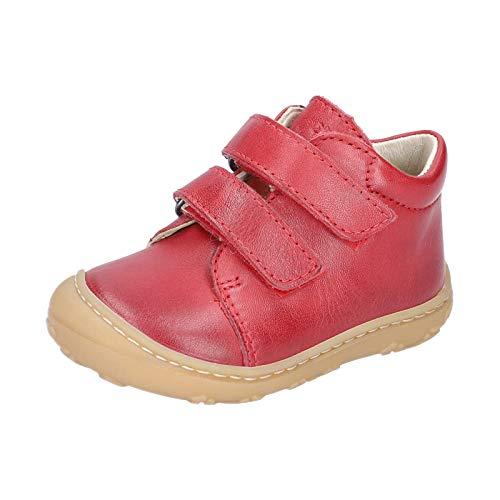 RICOSTA Unisex - Kinder Lauflern Schuhe Chrisy von Pepino, Weite: Mittel (WMS), Halbschuh mit Klettverschluss flexibel,Kamin,22 EU / 5.5 Child UK