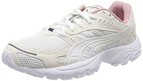 Puma Unisex-Erwachsene Axis Sneaker, Beige (Puma White-Pastel Parchment-Peacoat-Bridal Rose 08), 42.5 EU